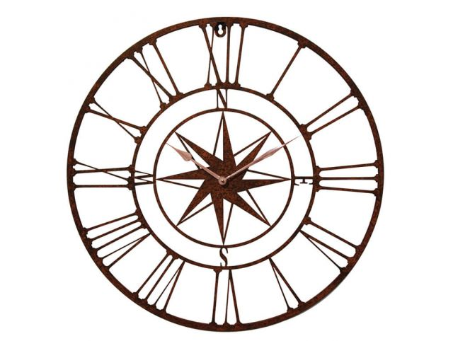 Horloge ROSE DES VENTS