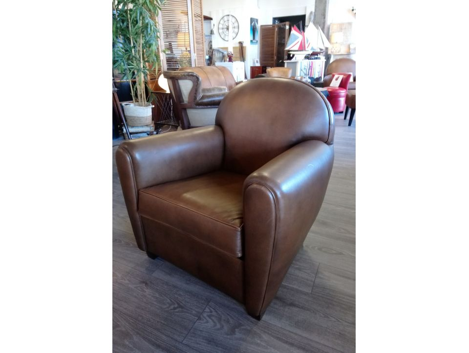 Fauteuil Club NEW YORK - Marron B3