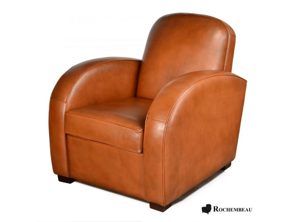 Fauteuil Club NEWCASTLE - Marron B3